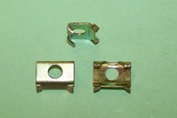 Moulding Clip for 7.1mm moulding gap. Humber Hawk, Super Minx, Rover 100, Jaguar, and MG Midget. Used with BSF050 rivet.