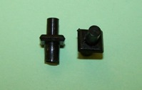 Moulding clip for 7.1mm moulding gap and 4.8mm panel hole. Triumph Dolomite, 2000, and Hillman Imp.