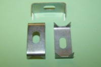 Mild steel pronged, trim board staple for use with either part no. 10020, 11480, 12770, or 14190.  General application.