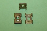 Moulding clip for 7.1mm moulding gap.  Riley Elf/1.5, Vauxhall Cresta/Viscount. Used with BSF050 rivet.