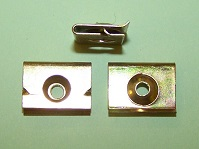 Moulding Clip - Ford Capri MK1 Quarter Panel Window Clip.