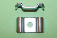 Brake Hardware- Twin Way Metal Brake Pipe clip. 3/16