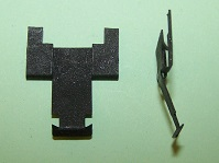 Weatherseal clip used on Sunbeam Alpine/Tiger