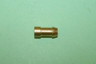 Bullet Terminal, 4.6mm in brass. For wire 0.5 - 2.5sq mm. General application