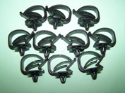 ford escort wiring loom clips set 1 rh bresco com Spark Plug Wire Looms Duct Wire Loom
